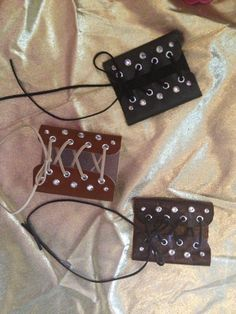hand designed leather cuff made from scrap leather with a suede lace up corset style Lace Cuffs, Leather Cuffs, Leather Jewelry, Leather And Lace, Metal Jewelry, Diy Jewelry, Jewelry Making, Jewlery, Diy Leather Projects