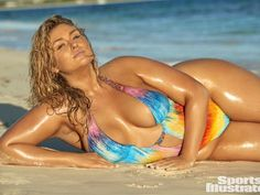 Sports Illustrated Featured Its Curviest Model Ever - SI Swimsuit Issue Hunter McGrady Sports Illustrated Swimsuit 2017, Sports Illustrated Models, Jessica Rabbit, Sport Chic, Sport Girl, Hunter Mcgrady, Girl Faces, Swimsuits 2017, Oufits Casual