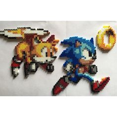 Sonic perler beads by perfectlyperled