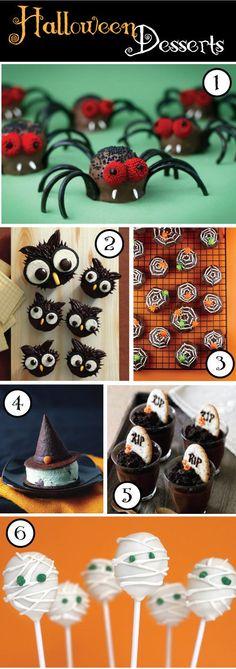 @Rebecca Dezuanni Trujillo  Halloween Desserts