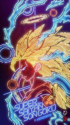 Dragon Ball the neon model fan of Kanchiyo Dragon Ball Gt, Goku Dragon, Dragonball Anime, Manga Anime, Anime Art, Otaku Anime, Goku Y Vegeta, Son Goku, Photo Manga