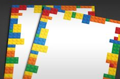 BORDER: Lego Theme Border/Frame Set [PowerPoint Template I