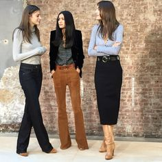 The only bad thing about the fall fashion shows in February is that you want to buy everything you see and wear it immediately. This was never more true than at the Frame Denim Fall 2015 presentation. I'm not tall enough to wear the 1970's inspired flares but I would love to be wearing the skirts […]