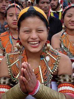 Konyak people, Nagaland, India