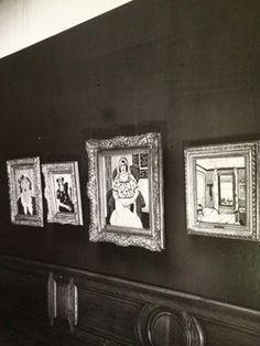 Henri Matisse's Femme assise on show in Paul Rosenberg's Paris gallery in Photo: The Paul Rosenberg Archives, a Gift of Elaine and Alexandre Rosenberg, The Museum of Modern Art Archives, New York. Paul Rosenberg, Art Archive, Henri Matisse, Museum Of Modern Art, Art World, English Language, Newspaper, Gallery Wall, Germany