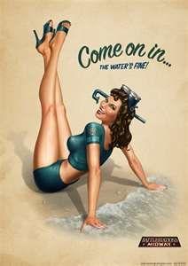 love vintage pin up girls