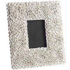 White Rose Shell Frame