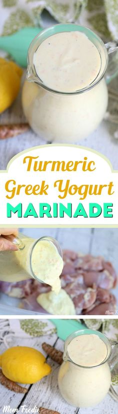 Turmeric Greek Yogurt Marinade Recipe
