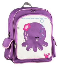 Beatrix New York Big Kid Backpack - Penelope (Octopus) - Everdell Trade
