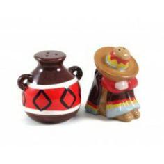 Mexican Theme Salt & Pepper Set