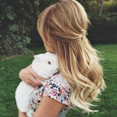 This sweet little bunny visited us on set