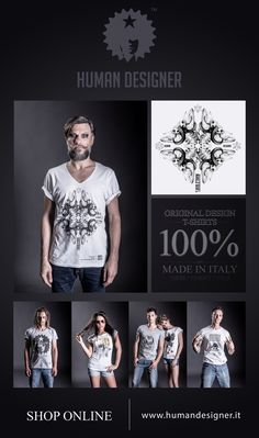 Original Design t-shirts / 100% made in Italy