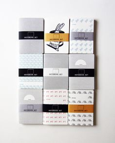 notebooks by Absoloot Letterpress
