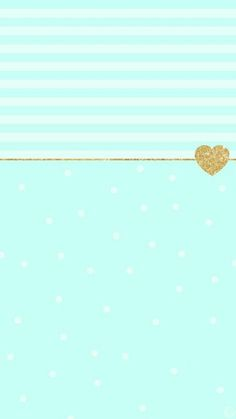 Tiffany Blue Gold Glitter Phone Wallpaper
