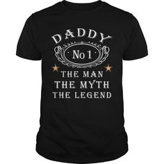 Get yours nice Daddy The Man The Myth The Legend Shirts & Hoodies.  #gift, #idea, #photo, #image, #hoodie, #shirt, #christmas