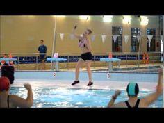 AQUA ZUMBA- La La La Shakira- Choreo by Ania Barlak - YouTube