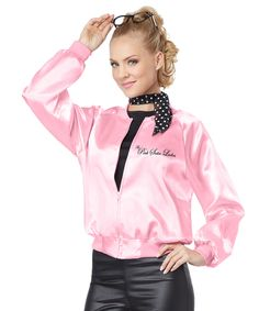 Authentic Grease Pink Ladies Jacket | Jackets Pink and Lady
