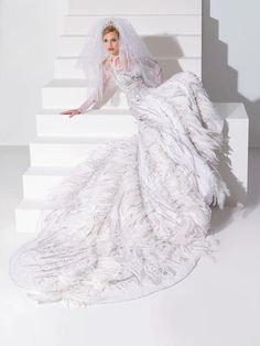 Blanka Matragi Haute Couture Wedding 2012