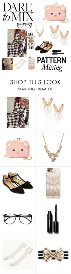 """""""Dare to mix"""" by rox-203 ❤ liked on Polyvore featuring Aamaya by priyanka, Accessorize, Casetify and Bobbi Brown Cosmetics"""