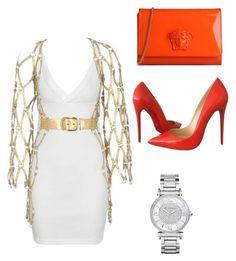 Aaliyah by natashajovic on Polyvore featuring polyvore, fashion, style, Zana Bayne, Christian Louboutin, Versace, Michael Kors and clothing