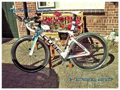 Bike with YOELEO 25mm wide carbon alloy clincher 60mm wheelset