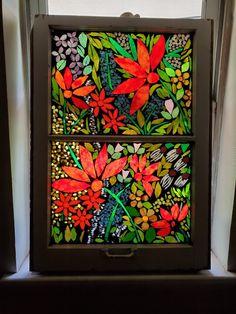 Mosaic Windows, Stained Glass, Pretty, Painting, Art, Art Background, Painting Art, Kunst, Gcse Art