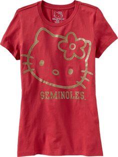 Old Navy Hello Kitty Florida State Seminoles T-Shirt