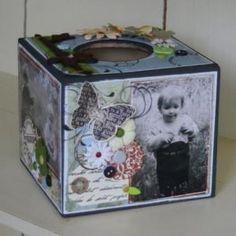 Boite à mouchoir  Tissu Box