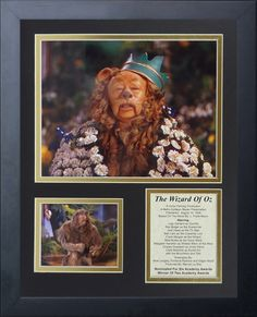 Wizard of Oz - Lion Framed Photo Collage
