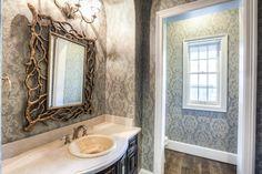 Wallpaper #guestbathroom