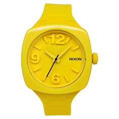 NIXON Womens A265639 Plastic Analog Yellow Dial Watch ** To view further for this item, visit the image link.Note:It is affiliate link to Amazon.