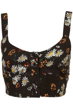 Daisy Soft Button Front Bralet - StyleSays