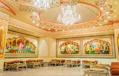 Virasat Restaurant is a top rated luxury heritage restaurant in Rajasthan. We are provided live folk dance & Music in Jaipur, Rajasthni food-Culture & Experience. Our A-Z Services has the lowest prices and the highest quality.