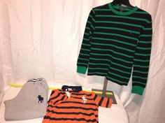 lot of 3 boys clothing size 10/12  14/16 Ralph Lauren Rugby Big Horse