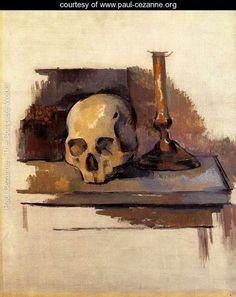 Skull - Paul Cezanne - www.paul-cezanne.org
