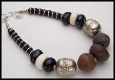 ANCIENT SPINDLE WHORLS - A Piece of Ancient African History...1 of a Kind Necklace by sandrawebsterjewelry on Etsy