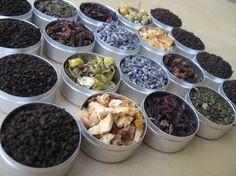 Herbal tea kit from cookoutsidethebox.etsy.com
