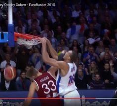 #EuroBasket2015: le puissant alley-oop de Rudy Gobert