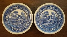Copeland Dishes - 1890s