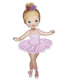 Baby Ballet, Little Ballerina, Ballerina Cartoon, Arabian Mehndi Design, Ballet Drawings, Ballerina Silhouette, Decorated Gift Bags, Ballet Painting, Mysore Painting
