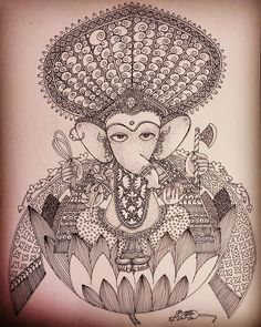 Ganesha Art, Central Asia, Art Forms, Carving, Drawings, Instagram Posts, Eyes, Joinery, Sketches