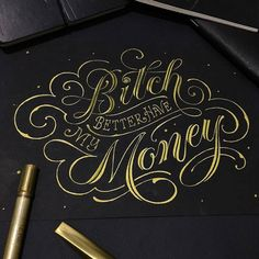 Pay me what you owe me. Type by @darkgravity | #typegang - typegang.com | typegang.com #typegang #typography