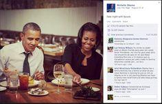 Michelle haciendo campaña: familiaridad, cercanía....imposible conseguir una imagen parecida de la pareja Romney.