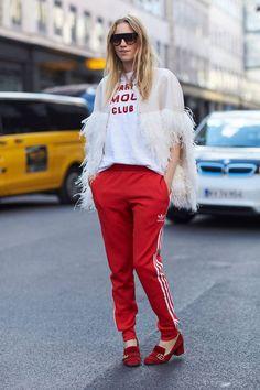 Comment porter le rouge cet hiver : nos inspirations pour savoir comment porter le rouge cet hiver - Elle