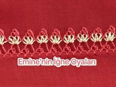 This Pin was discovered by Şöh Crochet Unique, Hairpin Lace, Point Lace, Crochet Borders, Needle Lace, Thread Work, Embroidery Stitches, Hair Pins, Tatting