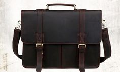 Cheap leather briefcase, Buy Quality leather business briefcase directly from China briefcase business Suppliers: Aolen Vintage Men's Genuine Leather Briefcase Big Business Handbag Cowhide Laptop Handbag Briefcase Hot Messenger Bag Fast Post Briefcase For Men, Leather Briefcase, Big Bags, Men's Bags, Handbags For Men, Laptop Bag, Shoulder Handbags, Cross Body Handbags, Leather Men