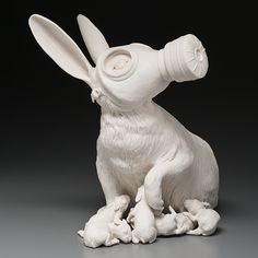 Kate MacDowell art porcelaine