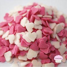 Herzdekor aus Zucker von ZuckerZauber