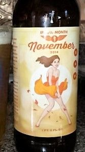 Winston-Salem, NC - Foothils Brewing IPA of the month November