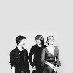 the golden trio <3